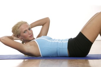 twist crunches exercise for love handles